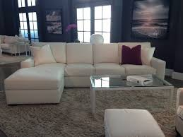 American Leather Sofas by American Leather Danford Sectional Elmo Leather In Stock
