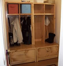 entryway lockers ana white braden entryway hutch diy projects