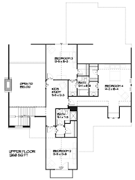 country style house plan 4 beds 3 50 baths 3086 sq ft plan 901 1