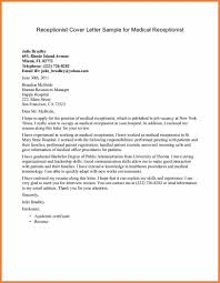 Cover Letter Examples For Receptionist by Medical Lab Technician Sample Resume Budget Assistant Sample