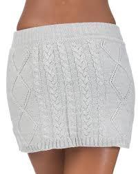 sweater skirt essentials mini sweater skirt grey 22909 jimmy jazz
