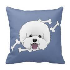 bichon frise cute bichon frise pillows decorative u0026 throw pillows zazzle