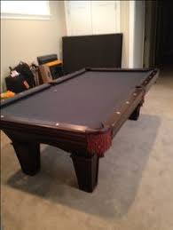 Dlt Pool Table by Brunswick Billiards Mansfield Pool Table Ball U0026 Claw 8 U0027 Sold