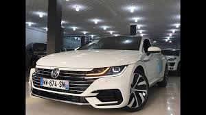 white volkswagen white vw arteon r line 2018 youtube