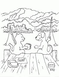 free coloring pages dog and kat kids coloring