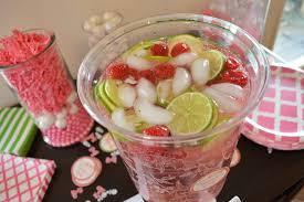 Pink Cocktails For Baby Shower - pink baby shower drink station u2013 printables for kids parties u0026 games