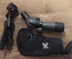 spotting scope window mount vortex diamondback spotting scope 20 60x60 w tripod classified