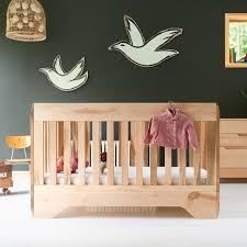 chambre bébé bois naturel lit bébé echo bois naturel kalon studios