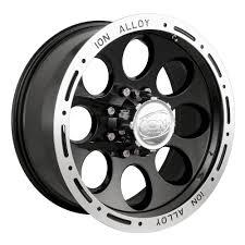 jeep beadlock wheels amazon com ion alloy 174 black beadlock wheel 15x10
