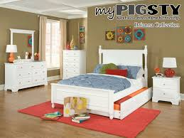 girls captain bed bedroom design charming white trundle beds made of wood on pink
