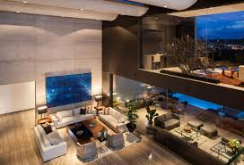 Contemporary Livingroom Striking Contemporary Monterrey Home With Gorgeous Double Height