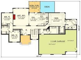 Home Plans With Loft 3 Car Garage House Plans With Loft House Plans