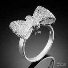 jewelry rings images 925 silver steel fashion costume jewelry rings bow shape jewelry jpg