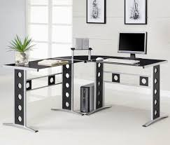 L Shaped Home Office Furniture L Shaped Home Office Furniture Perforated Base Legs Leather