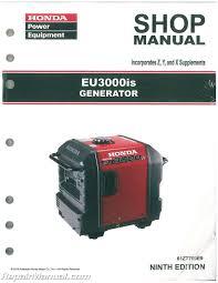 honda generator manuals repair manuals online