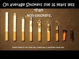 Anti Smoking Meme - anti smoking psa life span of smokers vs non smokers public