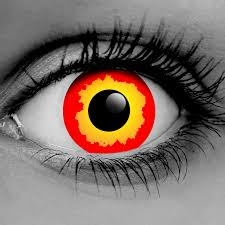 prescription halloween contacts yellow zombie fx contact lenses premium cls pair vampfangs