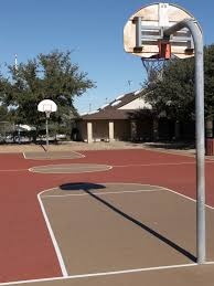 how to build a backyard basketball court