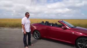 lexus convertible 2014 2014 lexus is350c long youtube
