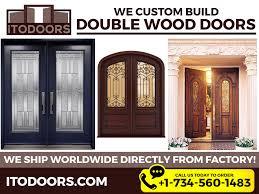 Solid Wood Interior French Doors - solid wood doors panel door house doors masonite doors front door