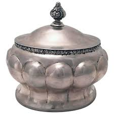 etrog for sale austrian secessionist silver sugar or etrog box for sale at 1stdibs