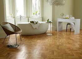 Vinyl Plank Flooring In Bathroom Decor Tips Bathroom With Vinyl Wood Plank Flooring And Wicker