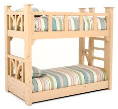 Barnwood Bunk Beds Cottage Bunk Bed Rustic Bunk Bed Painted Reclaimed Wood