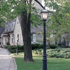 exterior driveway lighting solution brass light gallery