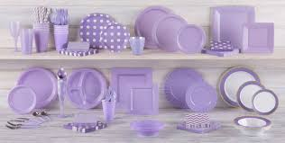 lavender baby shower lavender tableware lavender party supplies party city