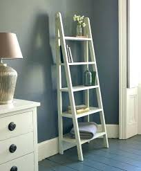 ladder shelves ikea ladder shelf bookcase with ladder shelf