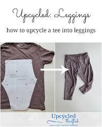 Upcycle Leggings - upcycled baby leggings heather handmade