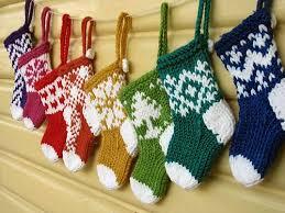 Crochet Christmas Stocking Tree Decoration by Free Pattern Friday Mini Christmas Stocking Ornaments Christmas