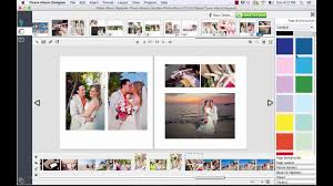 designer photo albums wedding album design add a color background to wedding albums