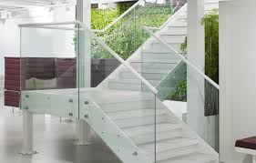 Glass Banister Uk Staircases Bespoke U0026 Contemporary Commercial Stairs Uk Stairfactory