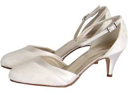 wedding shoes rainbow club a charming two shoe covered in ivory lace with a sleek satin