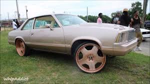 rose gold car whipaddict 80 u0027 chevrolet malibu on brushed rose gold forgiato