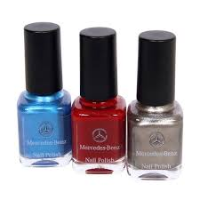 paint your nails in signature mercedes benz paint job colors