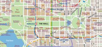Miami Design District Map by National Mall Map In Washington D C Wheretraveler