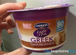 Light And Fit Greek Yogurt Spotted On Shelves Limited Edition Dannon Light U0026 Fit Toasted