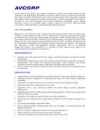 Cover Letter Machine Operator Sample Resume Cnc Machine Operator po      SlideShare