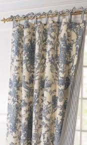 Tie Top Curtain Panels Best 25 Toile Curtains Ideas On Pinterest French Country