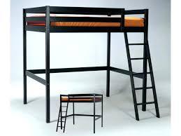 lit mezzanine noir avec bureau lit 1 personne mezzanine lit mezzanine 1 personne lit mezzanine