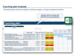 Change Management Plan Template Excel Change Management Toolkit Including Models Plans Frameworks Tools