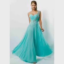 one shoulder mint prom dresses naf dresses