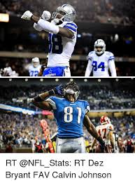 Calvin Johnson Meme - 9 4 7 00 rt rt dez bryant fav calvin johnson calvin johnson meme