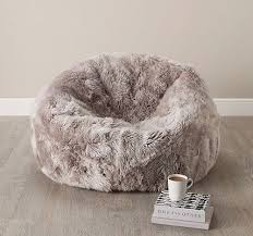 fuzzy bean bag chair best 25 fur bean bag ideas on pinterest bean
