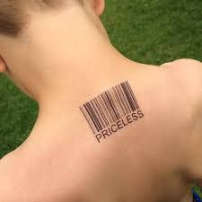 barcode tattoo meaning tattoo collections
