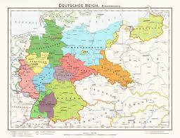 Breslau Germany Map by Hugo Preuss U0027 States Of Germany By 1blomma On Deviantart
