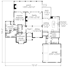 Main Level Floor Plans Bridlewood Mitchell Ginn Southern Living House Plans