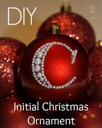 diy initial ornament ornament initials and